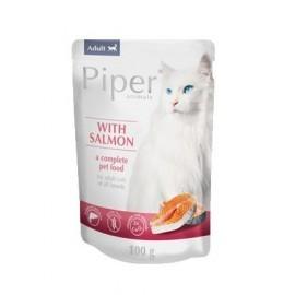 Piper Kot Łosoś saszetka 100g