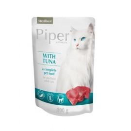 Piper Kot Sterilised Tuńczyk saszetka 100g