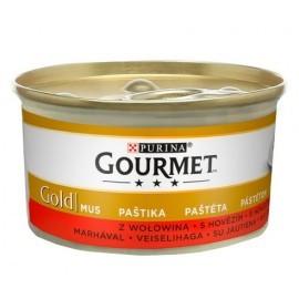 Gourmet Gold Mus z Wołowiną 85g