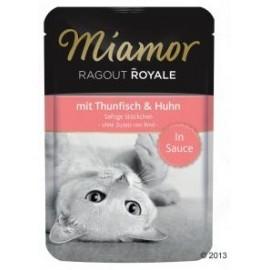 Miamor Ragout Royale z Tuńczykiem i Kurczakiem w sosie saszetka 100g