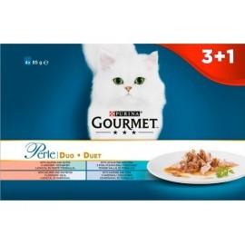 Gourmet Perle Duet Morski saszetki 3+1 gratis 4x85g
