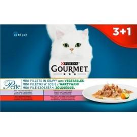 Gourmet Perle Exotic saszetki 3+1 gratis 4x85g