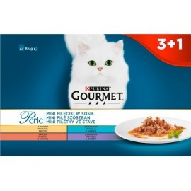 Gourmet Perle Standard saszetki 3+1 gratis 4x85g