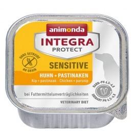 Animonda Integra Protect Sensitive dla psa kurczak + pasternak tacka 150g