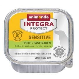Animonda Integra Protect Sensitive dla psa indyk + pasternak tacka 150g