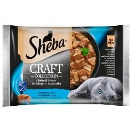 Sheba Craft Collection Rybne smaki saszetki 4x85g