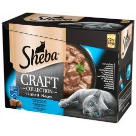 Sheba Craft Collection Rybne smaki saszetki 12x85g