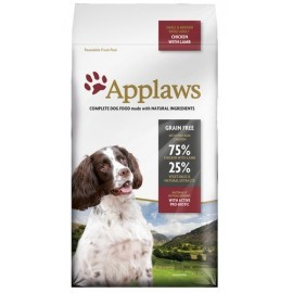 Applaws Adult Dog Small & Medium Breed Kurczak z jagnięciną 7,5kg