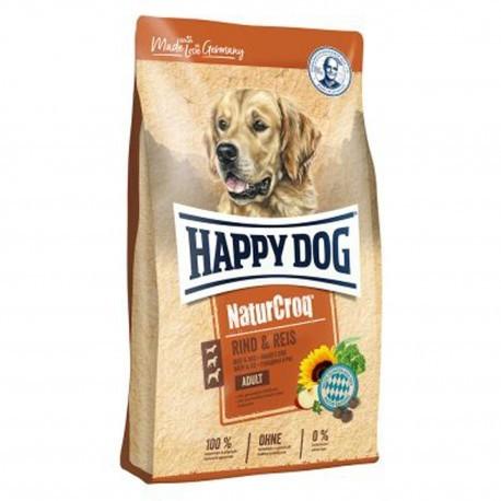 Happy Dog NaturCroq woiowina & ryż 15kg HD-8810