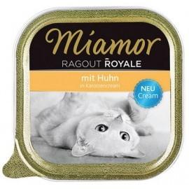 Miamor Ragout Royale Cream Huhn in Karottencream tacka 100g