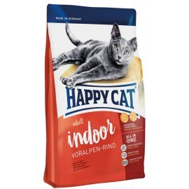 Happy Cat Fit & Well Indoor Adult Wołowina 10 kg