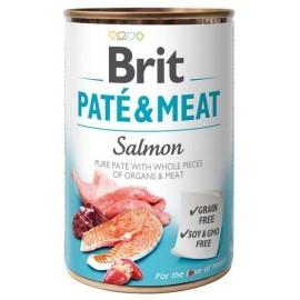Brit Pate & Meat Dog Salmon puszka 800g