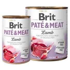 Brit Pate & Meat Dog Lamb puszka 800g