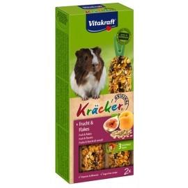 Vitakraft Kracker 2szt Świnka morska Owoce i płatki 112g [25155]