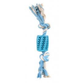 Flamingo Lindo TPR rurka i sznur niebieski 30cm [519496]
