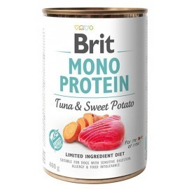 Brit Mono Protein Tuna & Sweet Potato puszka 400g