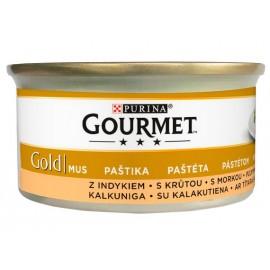 Gourmet Gold Mus z Indykiem 85g